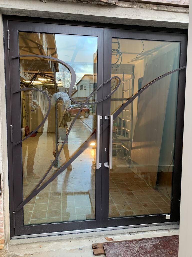 Porte accueil Vilmart